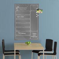 Wochenplaner in der Farbe Grau aus Glas mit Stift – Bild 16