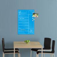 Wochenplaner in der Farbe Himmelblau aus Glas mit Stift – Bild 6