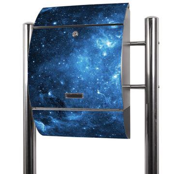 Edelstahl Standbriefkasten Universum