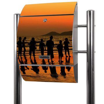 Edelstahl Standbriefkasten Koh Samet Beach