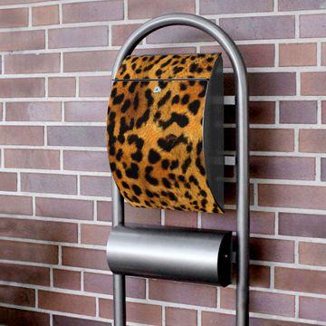 Standbriefkasten Hammerschlag Leopard