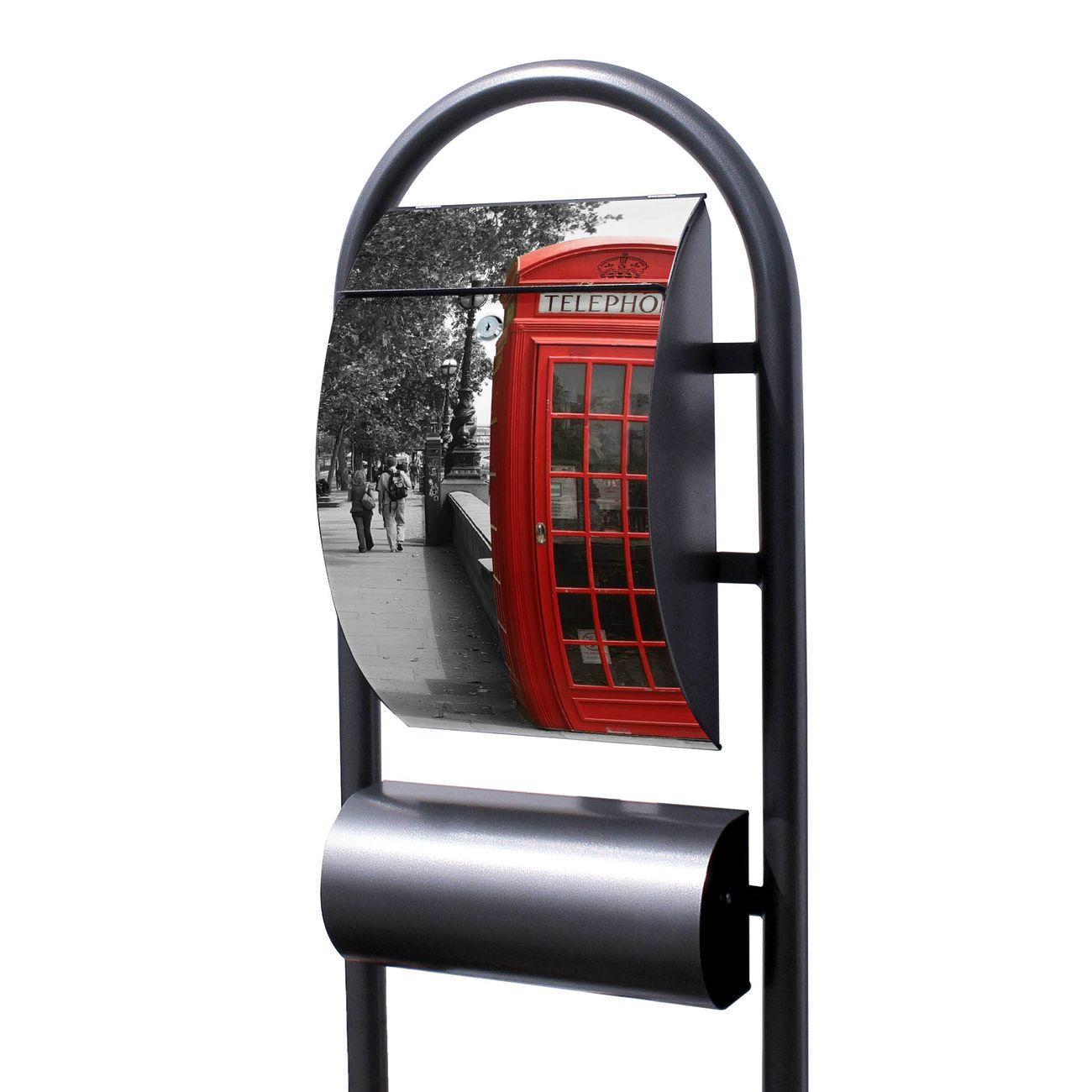 Standbriefkasten Hammerschlag London Red Telephone