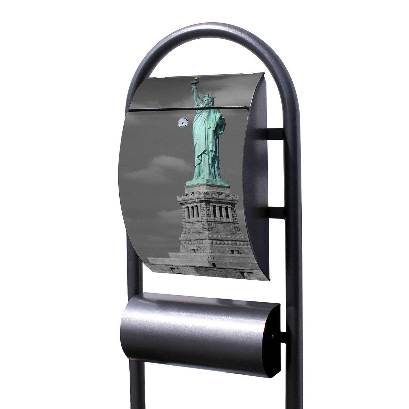 Standbriefkasten Hammerschlag Freiheitsstatue