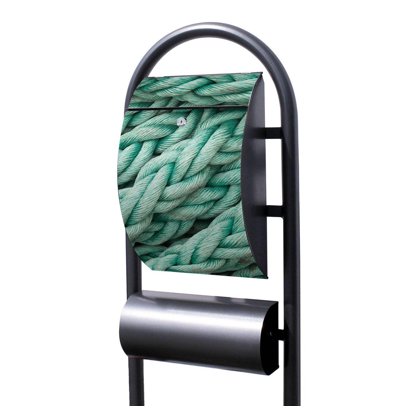 Standbriefkasten Hammerschlag Grünes Tau