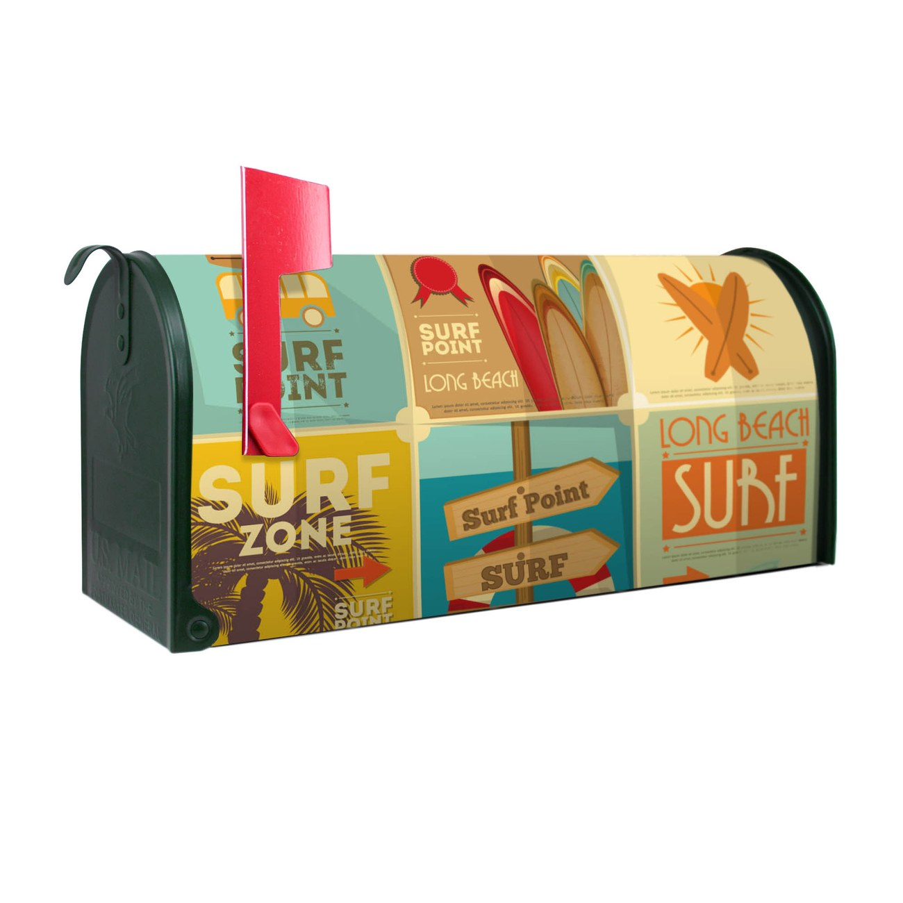 Amerikanischer Briefkasten Surf Point