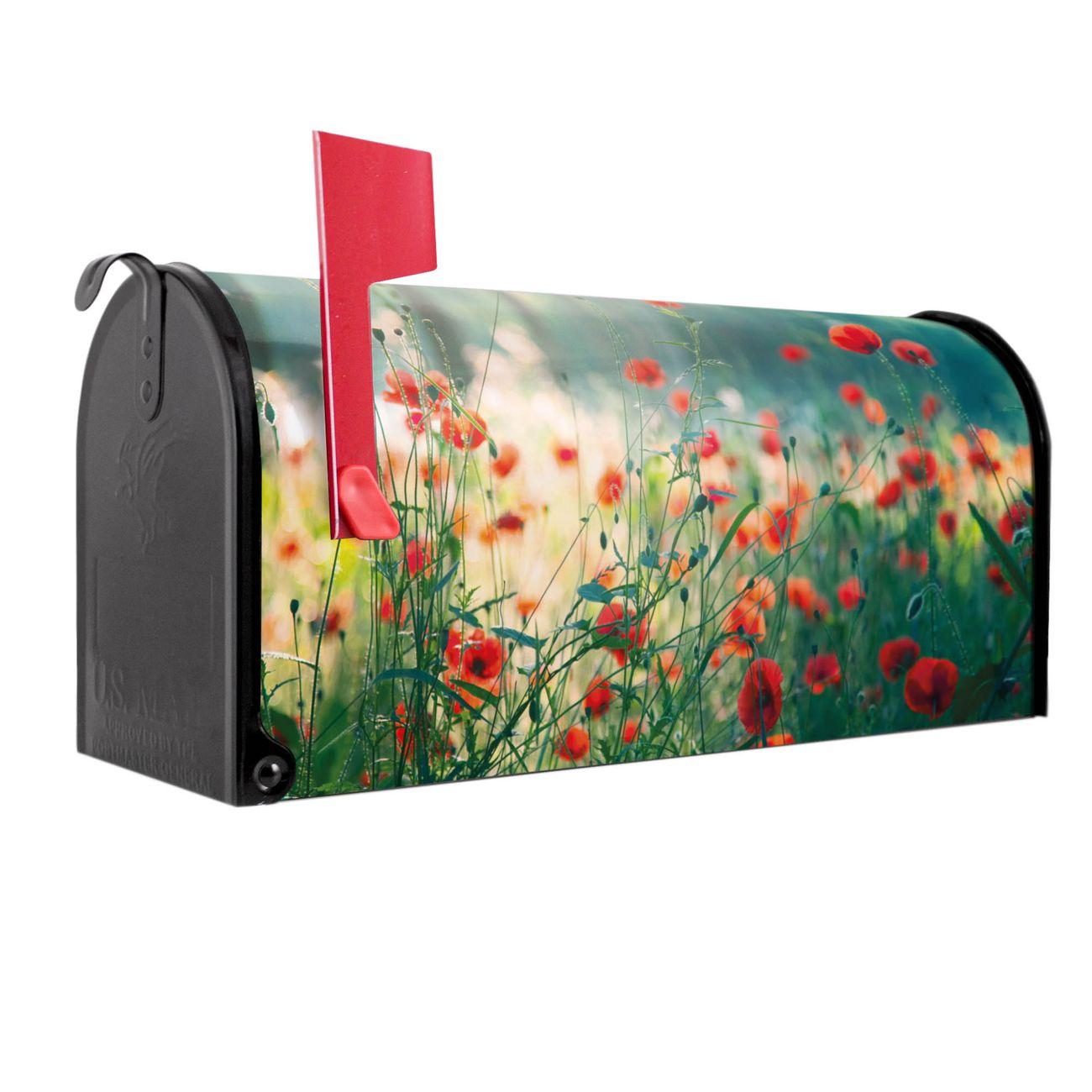Amerikanischer Briefkasten Waldmohn