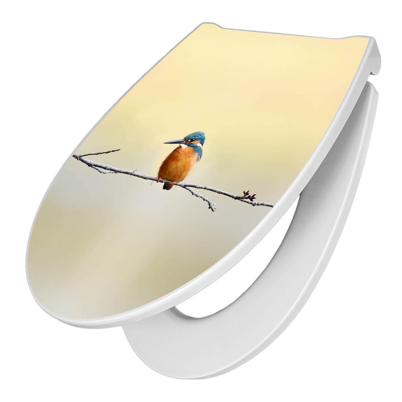 Premium WC-Sitz Softclose Absenkautomatik Motiv Pause