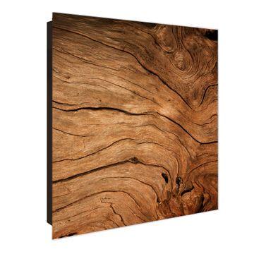 Schlüsselkasten Glas Motiv Trockenes Holz