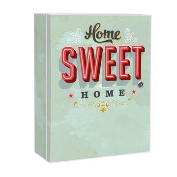 Medizinschrank Stahl Motiv Home Sweet Home