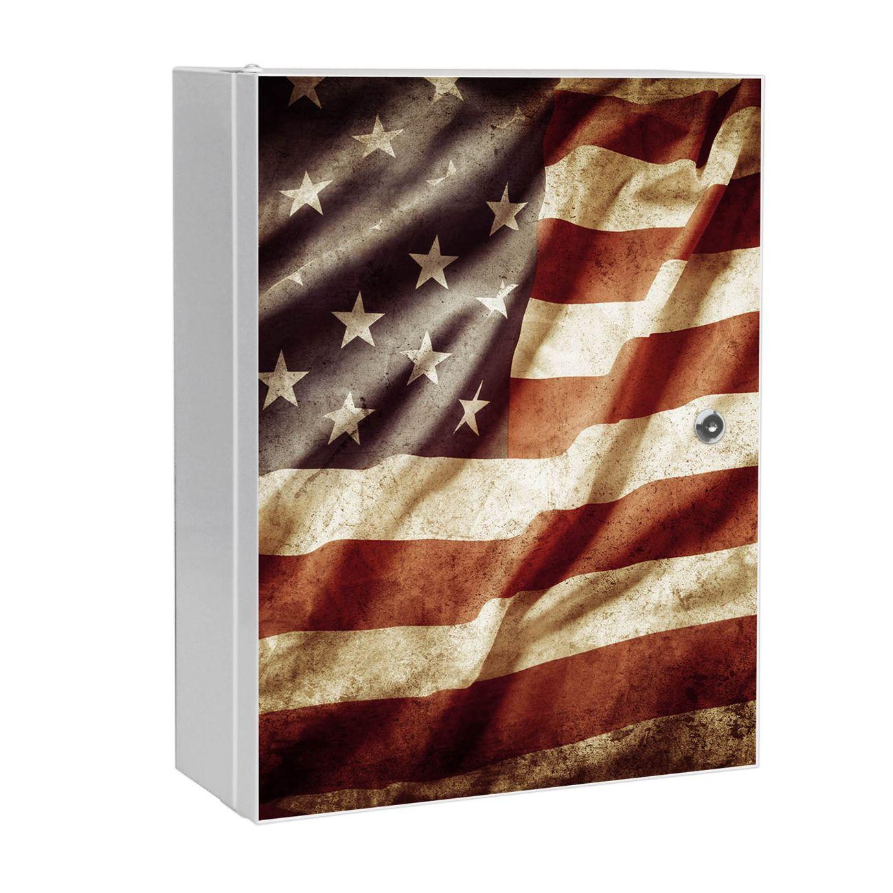 Medizinschrank Stahl Motiv United States