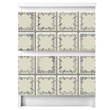 Möbelsticker für Ikea MALM Motiv Kacheln
