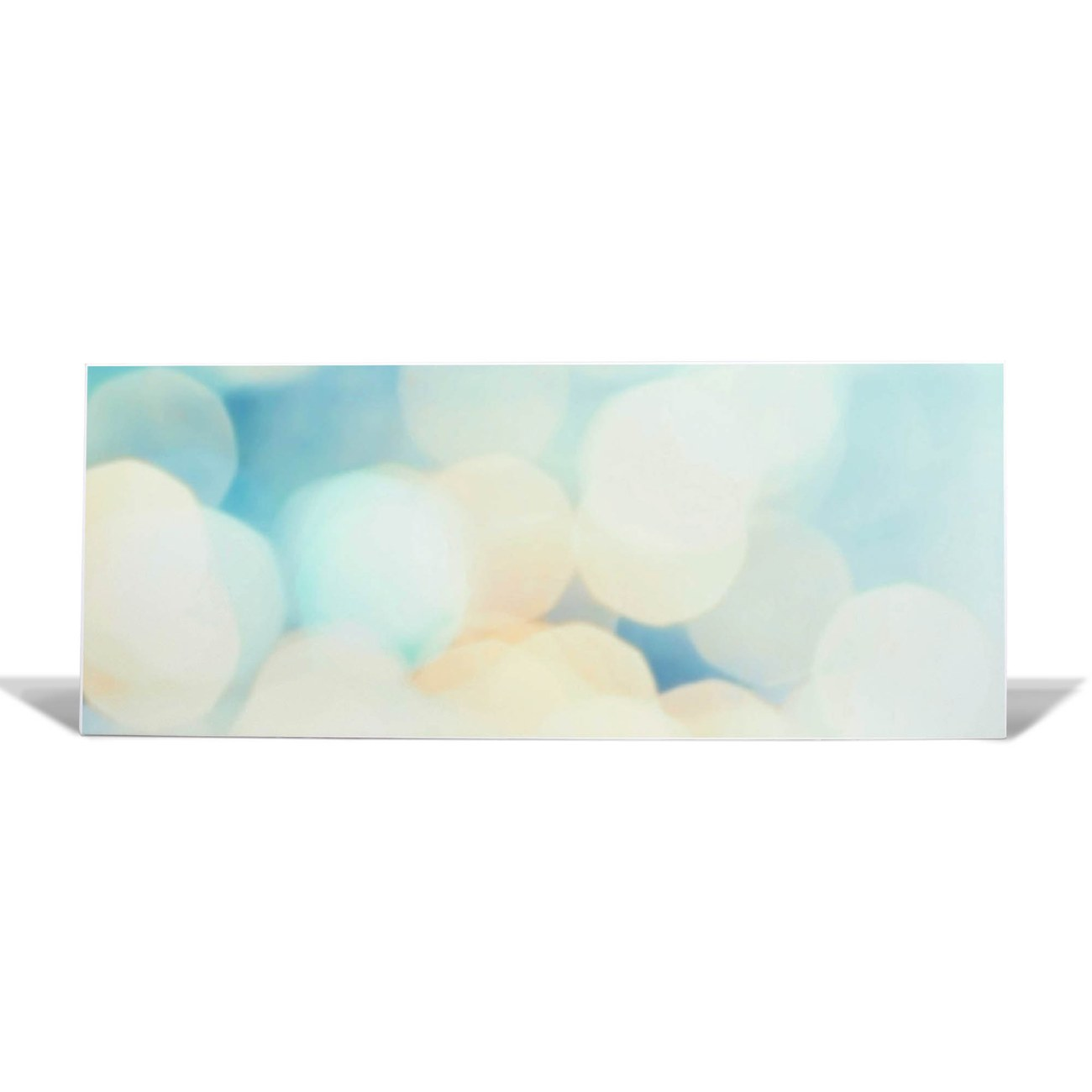 Magnettafel 75x30cm weiß Querformat Funkelnde Lichter – Bild 1