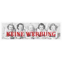 KEINE WERBUNG Aufkleber für Briefkasten Girls