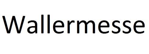 Wallermesse