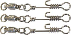 Zeck Ball Bearing Swivel + Twistlock Snap 105kg - 3 Kugellagerwirbel