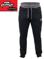 Fox Rage Black Ribbed Joggers Hose