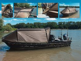 Black Cat Special Boat Cave II 335x220x105cm - Bootszelt
