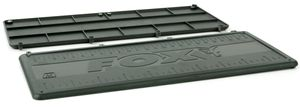 Fox F box medium lids - 2 Angelbox Einsätze