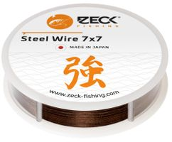 Zeck Steel Wire 7x7 10m - Stahlvorfach