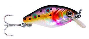 Trick-Fisch Mini Wobbler Bachforelle 3cm 2g schwimmend Forellenwobbler