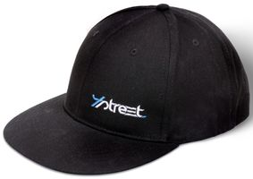 4Street Rapper Cap schwarz - Angelcap