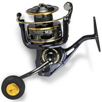 Black Cat FD 660 Buster Spin - Spinnrolle für Wels, Welsrolle zum Spinnangeln, Blinkerrolle zum Welsangeln