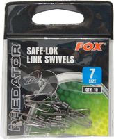 Fox  Safe-Lok Link Swivels Wirbel Gr. 7