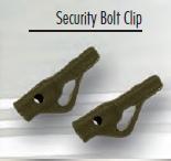 Pelzer Security Safety Bolt Clips (10 Stück)
