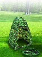 Pop Up Wetterschutz Anglerzelt Schirm Zelt Camouflage