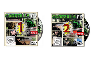 Carpzilla TV DVD Version 1 + 2