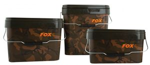 Fox Camo Square Carp Bucket Eimer