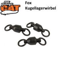 Fox Rage Cat Ball Bearing Swivels Wallerwirbel