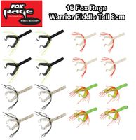 16 Fox Rage Warrior Fiddle Tail 8cm Gummifische