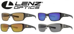 Lenz Optics Ponoi Titan / Carbon Sunglass - Polbrille