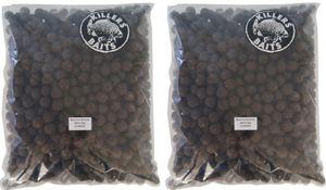 Carp Killers Black Fish & Garlic Boilies 10kg 20mm