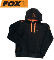 Fox Black / Orange Hoodie Kapuzenpullover