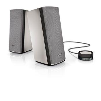 Bose® Companion® 20 Multimedia Speaker System Silber