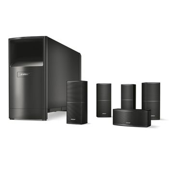 Bose® Acoustimass® 10 Series V home cinema speaker system Schwarz