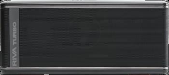 Riva Turbo X Schwarz Lautsprecher