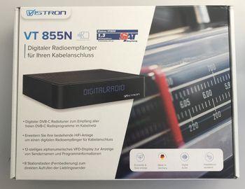 Sky-Vision VT855-N DVB-C Radio Tuner