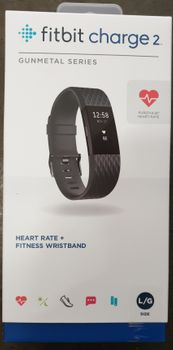 Fitbit Charge 2 Edition Large Schwarz