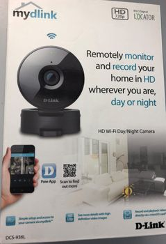D-Link mydlink HD-WiFi Tag/Nacht Camera DCS-936L