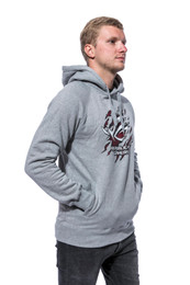 Unisex Hooded Sweat - grey