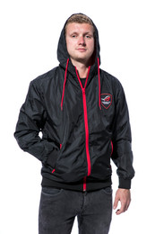 ROG Gamer Windbreaker Unisex - black/red