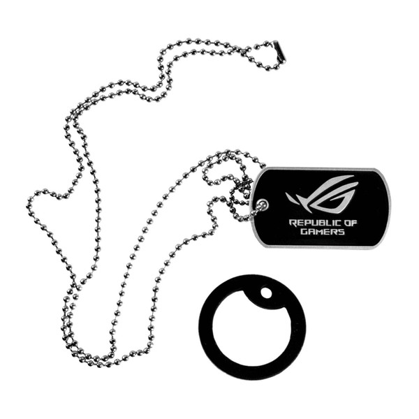 Dog Tag Single - black mat