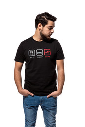 ROG Gamer Shirt 'Eat-Sleep-Game'