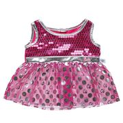 Barbie™ Silbernes Polka Dot Kleid