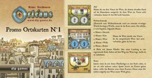 Ortskarten Promo Edition 1