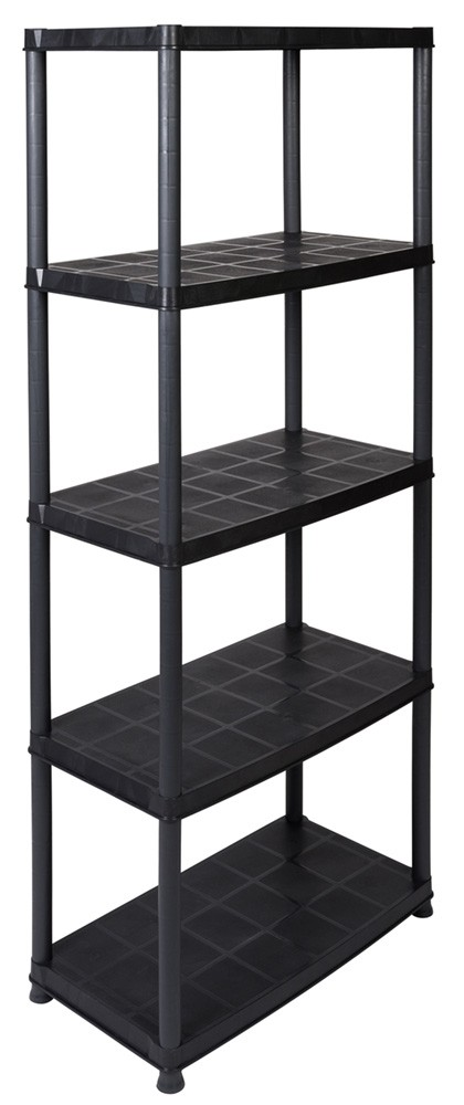 3 x kunststoffregal steckregal werkstattregal regal kellerregal plastikregal top ebay. Black Bedroom Furniture Sets. Home Design Ideas