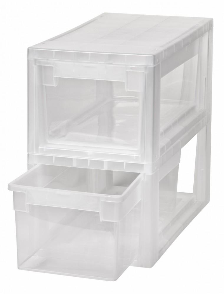 2 x schubladenbox schublade aufbewahrungsbox kleiderbox kommode unterbettbox s ebay. Black Bedroom Furniture Sets. Home Design Ideas
